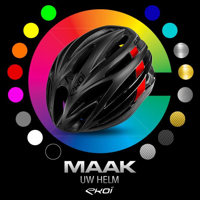 EKOI Custom personnalisation casques vélos