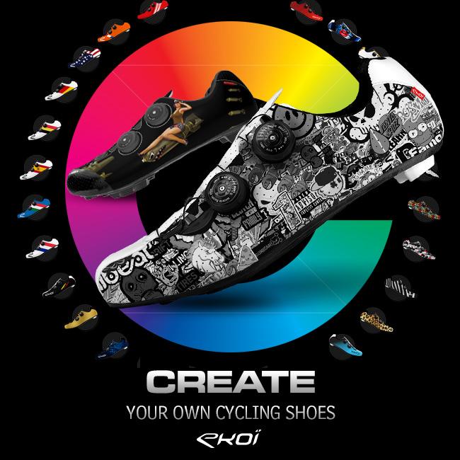 EKOI Custom personnalisation chaussures vélos