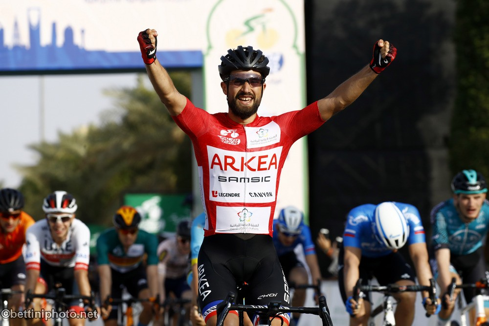 Nacer Bouhanni ranks 4th on Saudi Tour
