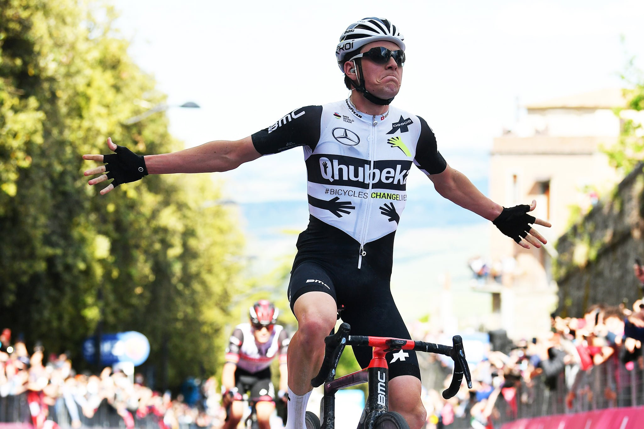 Mauro Schmid a remporté la 11e étape du Giro d'Italia