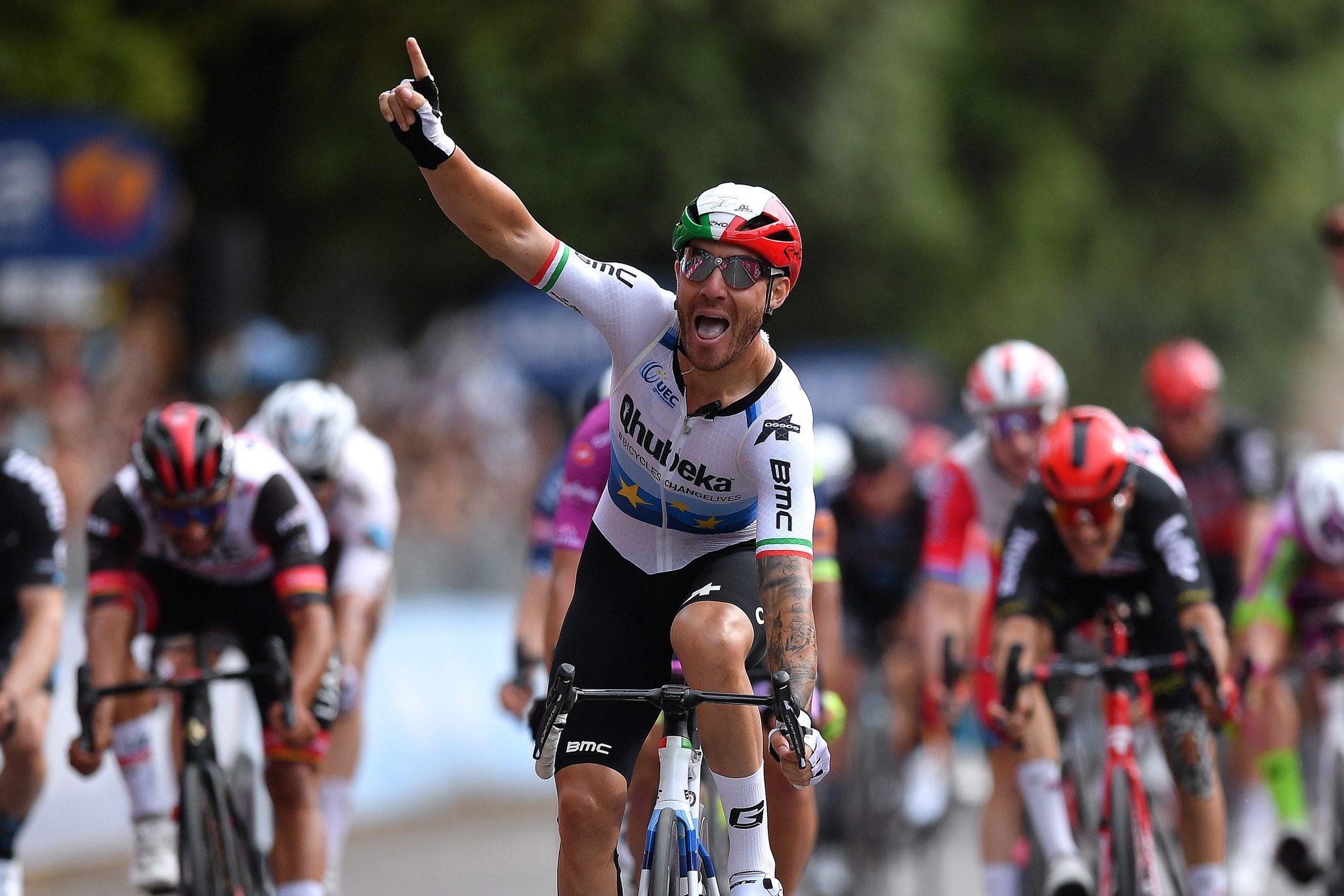 Giacomo Nizzolo remporte la 13e étape du Giro d'Italia