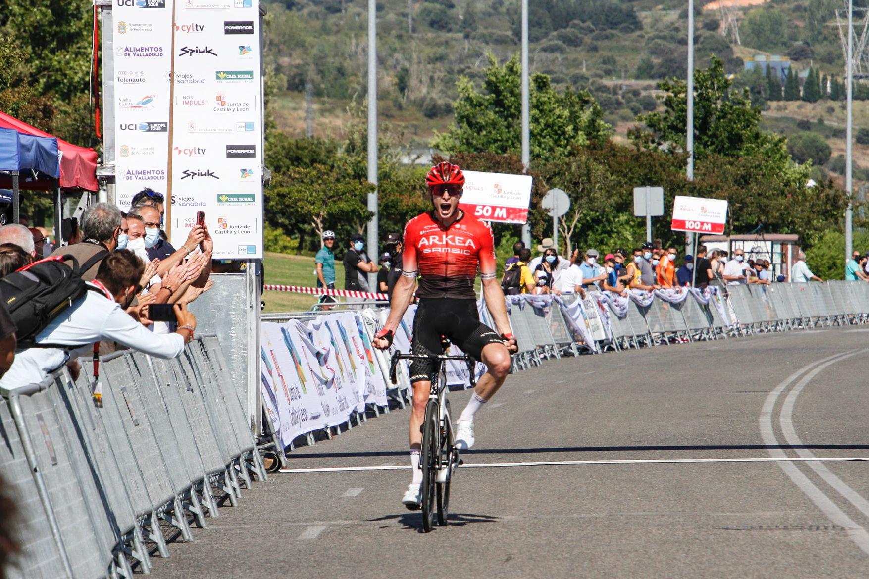 Matîs Louvel wins the Vuelta a Castilla y Leon