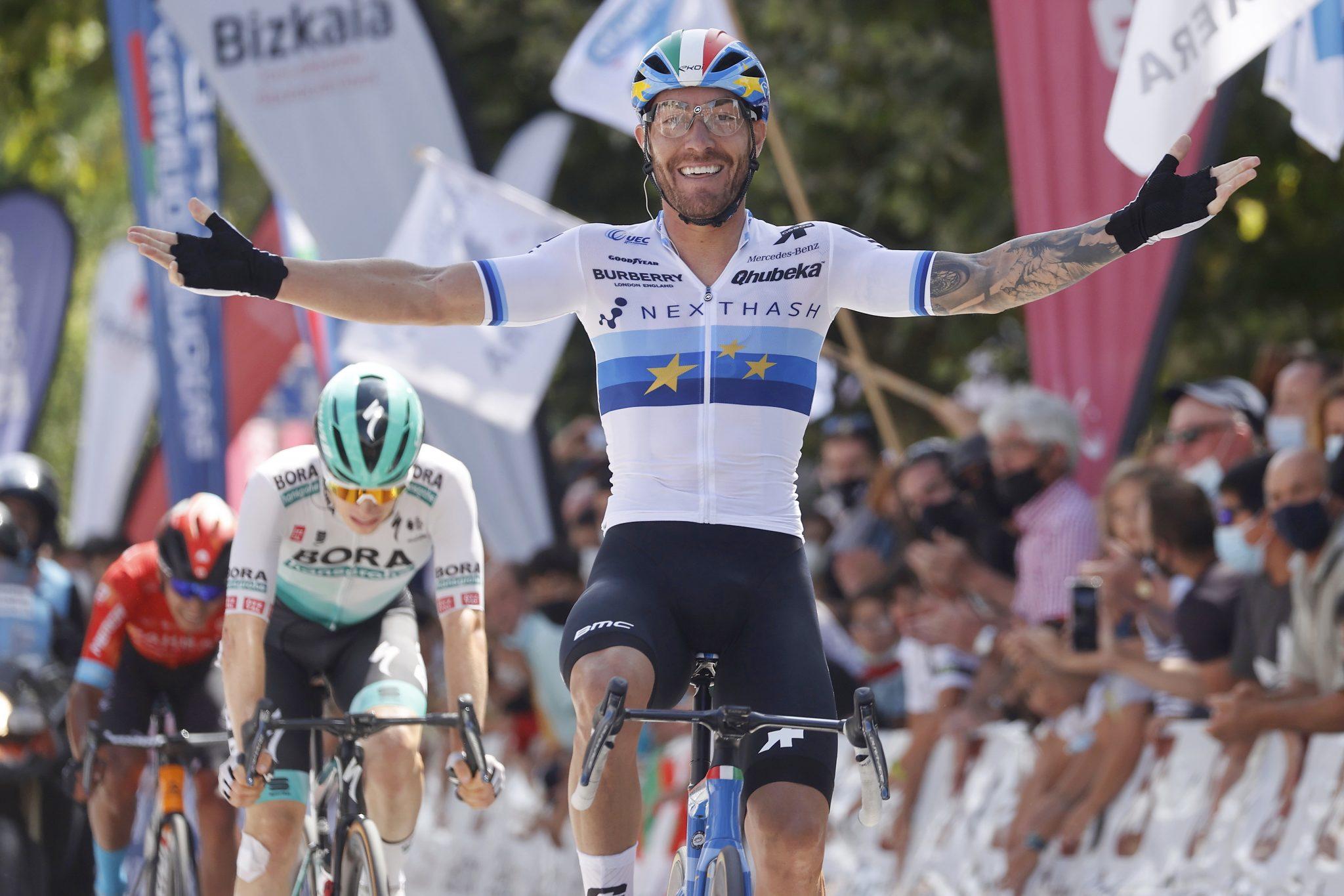 Victoire de Giacomo Nizzolo sur le Circuito de Gexto