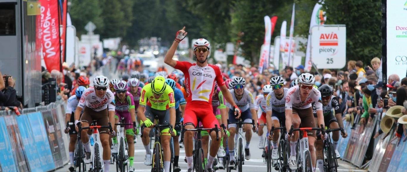 Christophe Laporte vitctory on sur la 1st stage of Tour du Limousin