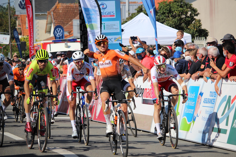 Victory of Jason Tesson on the Tour du Poitou Charentes