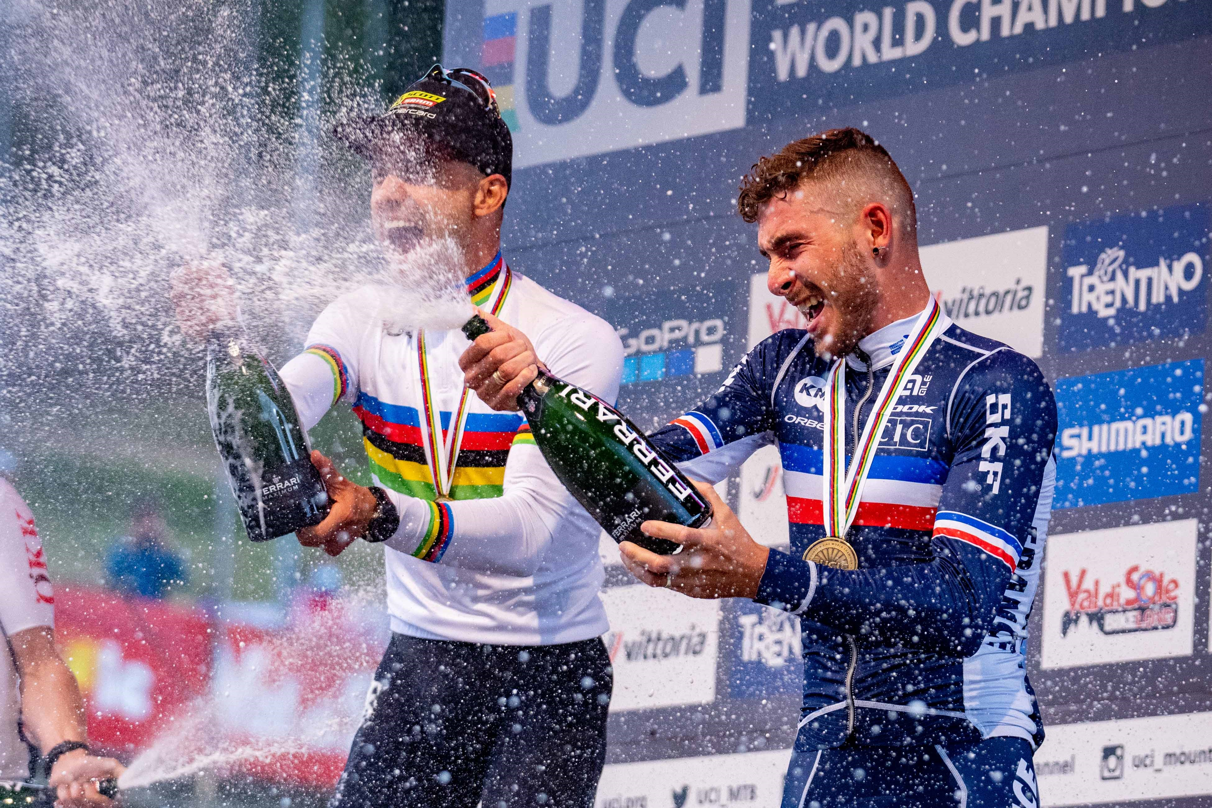 Victor Koretzky 3rd of the World Championships in Val di Sole