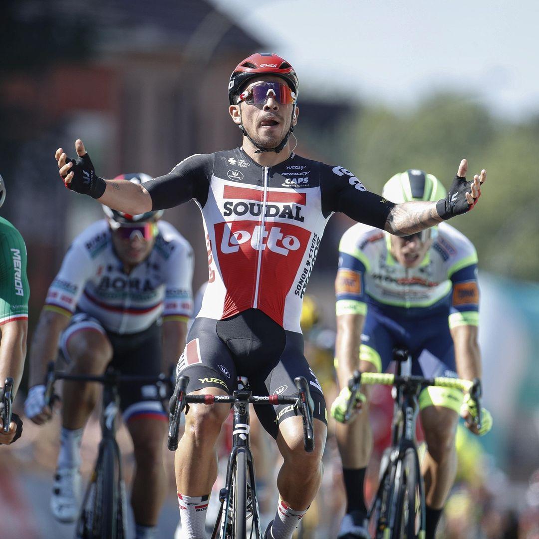 Caleb Ewan victory on the 5th stage of Caleb Ewa