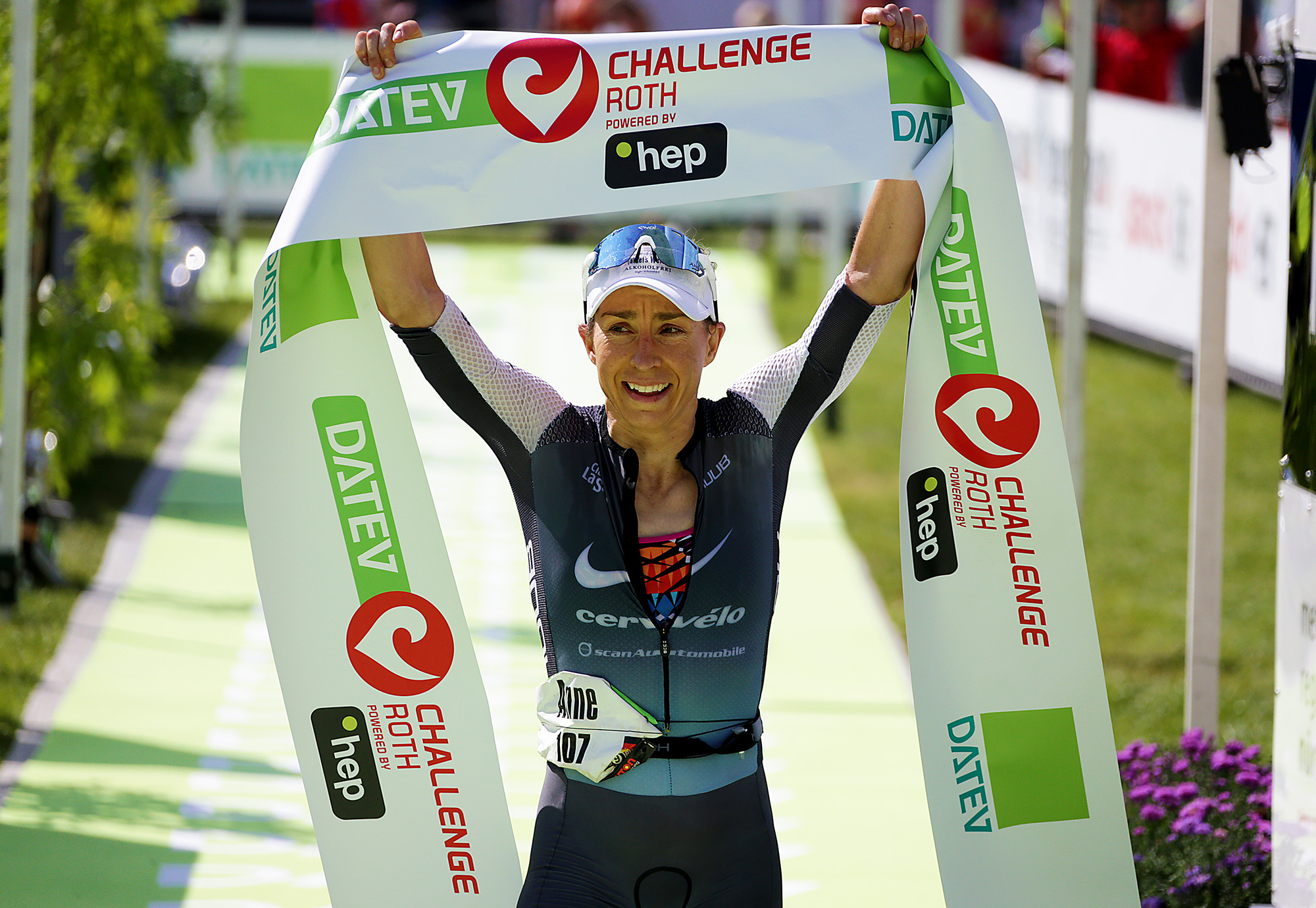 2nd title of Europe champion on the Challenge de Roth