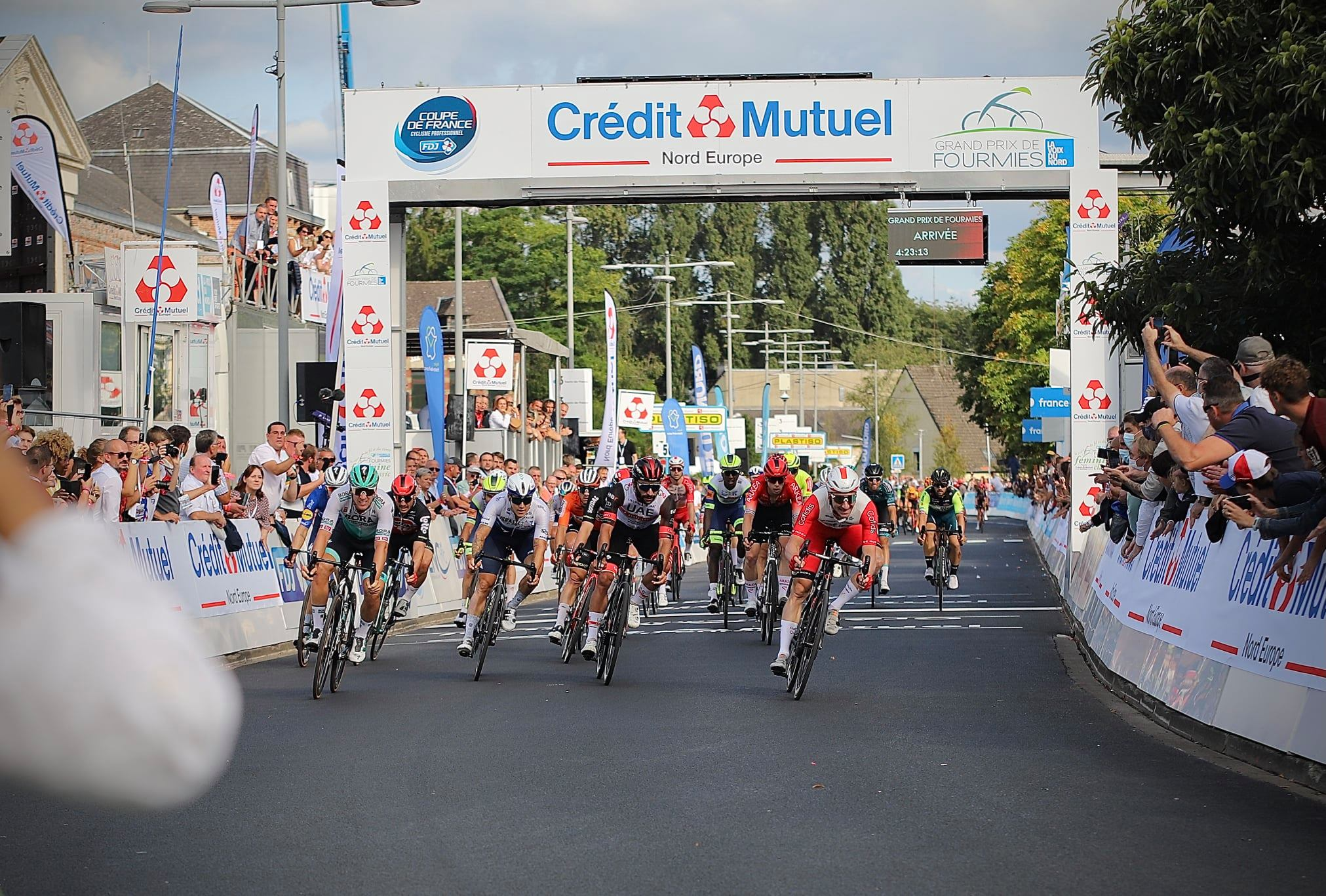 Elia VIVIANI Winner on the Grand Prix de Fourmies