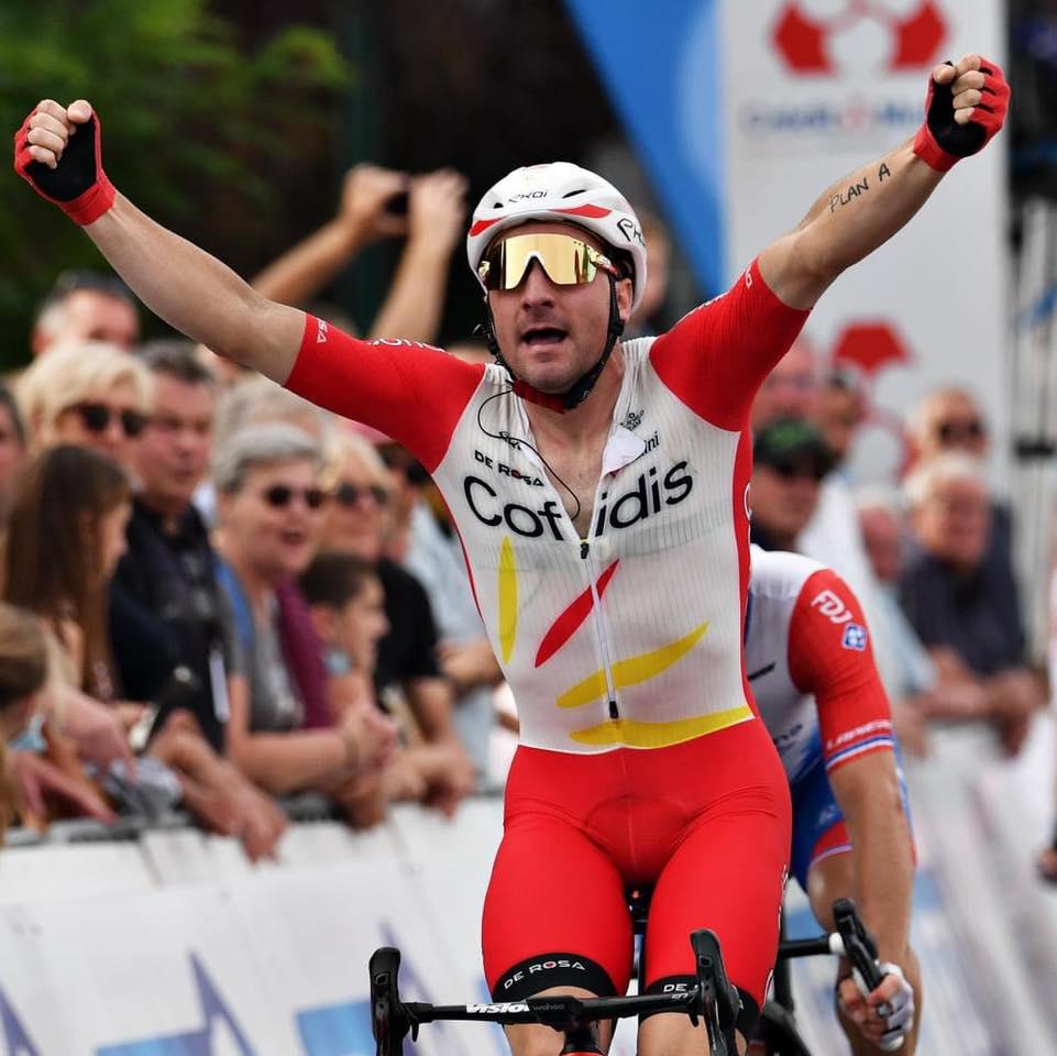 Elia Viviani winner of the GP d'Isbergues