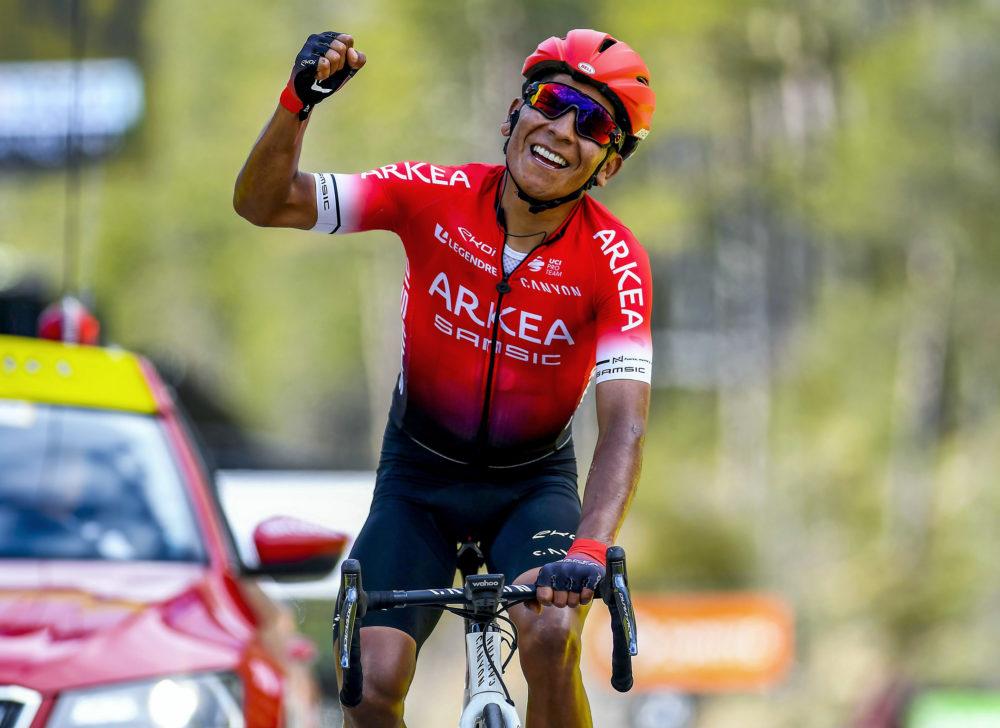 Nairo Quintana s'impose sur la 7ème étape de Paris-Nice à la Colmiane