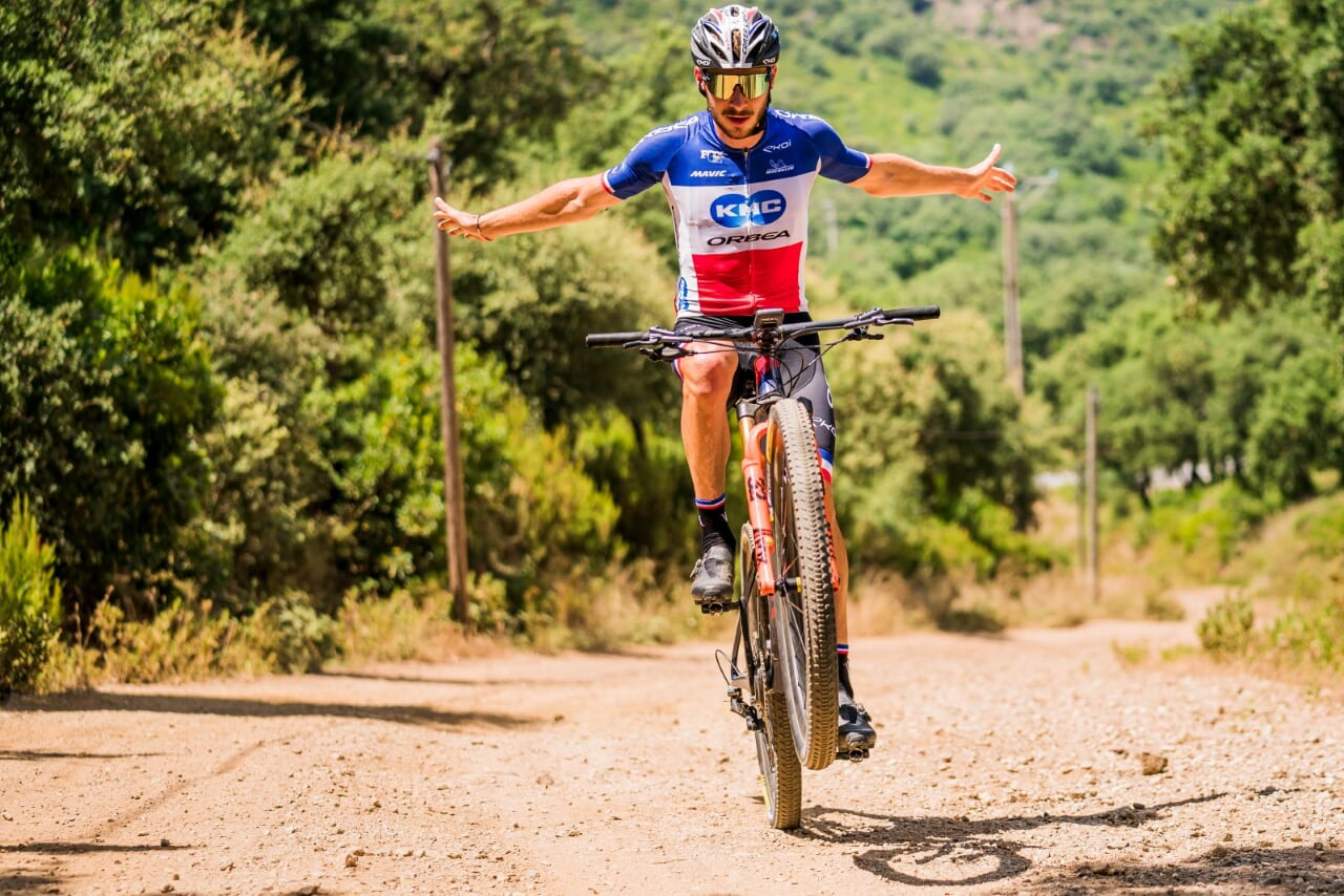VICTOR KORETZKY AND MALENE DEGN WINNERS OF THE COPA CATALANA INTERNACIONAL BTT BIKING POINT