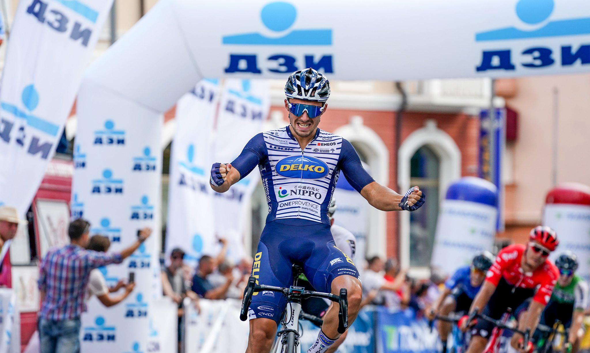 Pierre Barbier gagne la troisième étape du Tour de Bulgarie