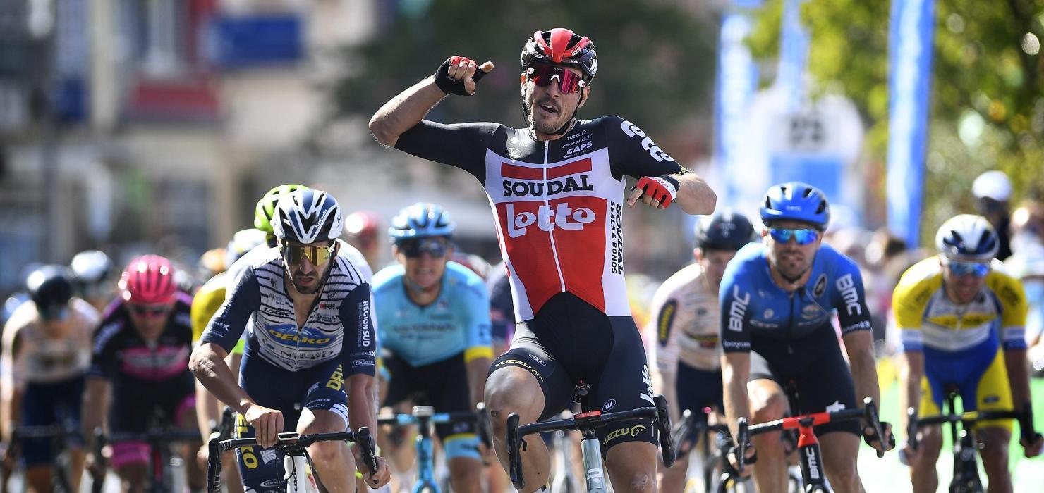 John Degenkolb victory on  Sprint au Skoda  - Tour of Luxembourg