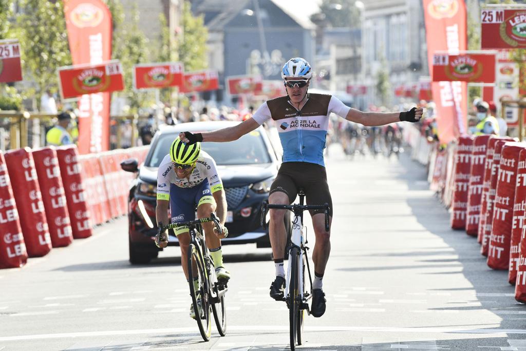 Dorian Godon's Victory on the ' Paris-Camembert'