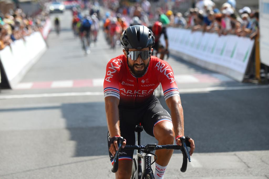 Nacer Bouhanni leader of French Cup 2020