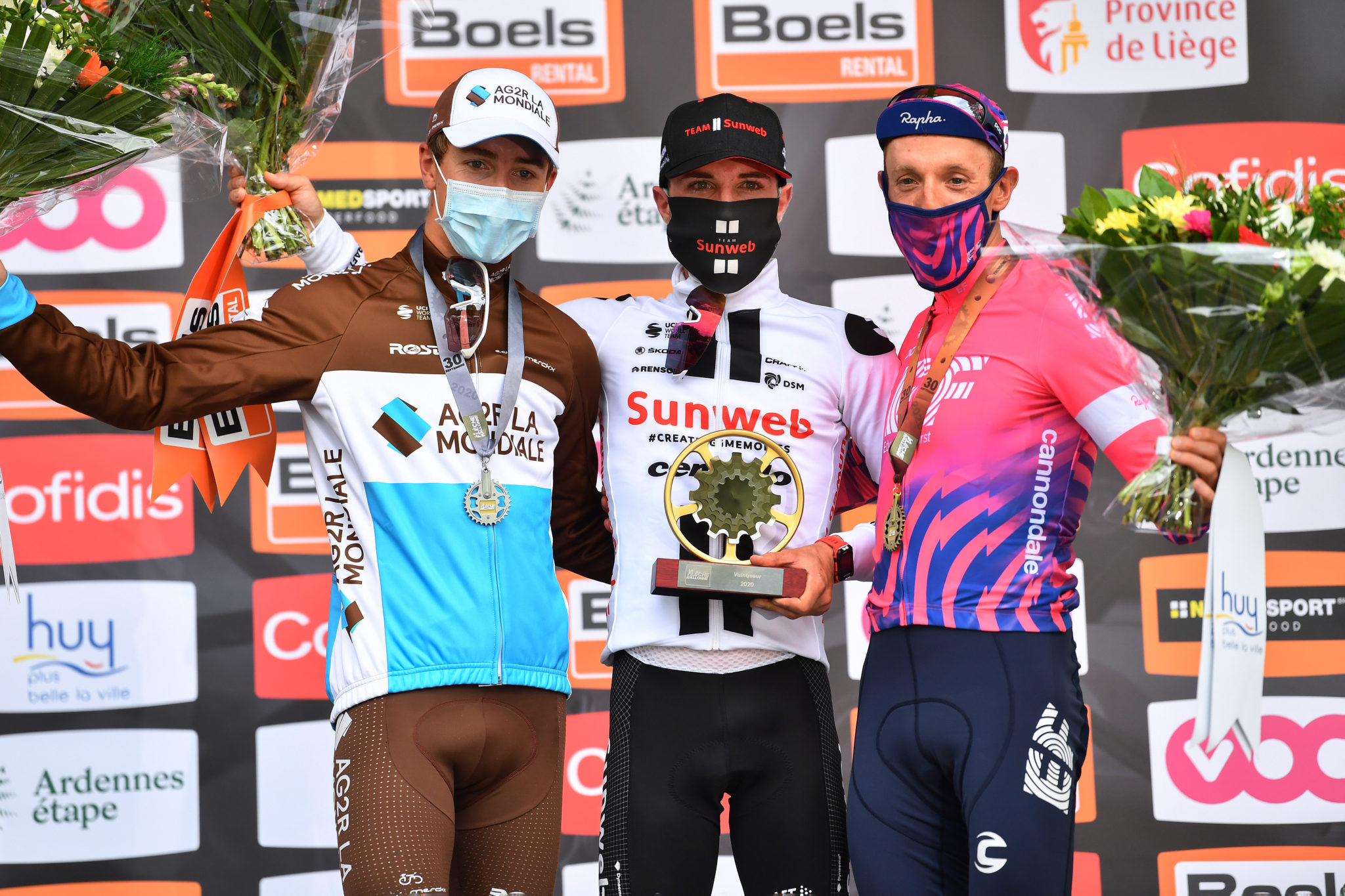 Flèche Wallonne  : Benoît Cosnefroy 2nd