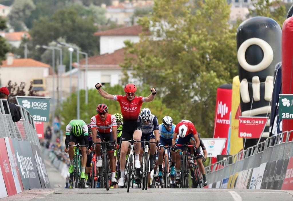 Dan McLay Winner  of the  5th  stage on Tour du Portugal