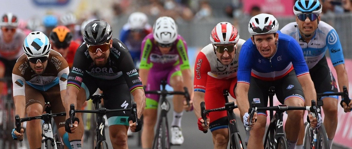 Giro d'Italia étape 4 : 4th et 5th position for the Ekoï Athletes