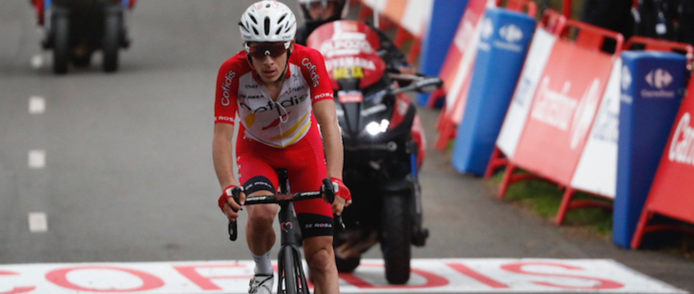 Guillaume Martin ends 2nd on the 5th stage of Vuelta