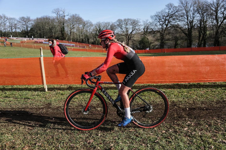 Amandine Fouquenet, Championne de France Cyclocross Élite & Espoir
