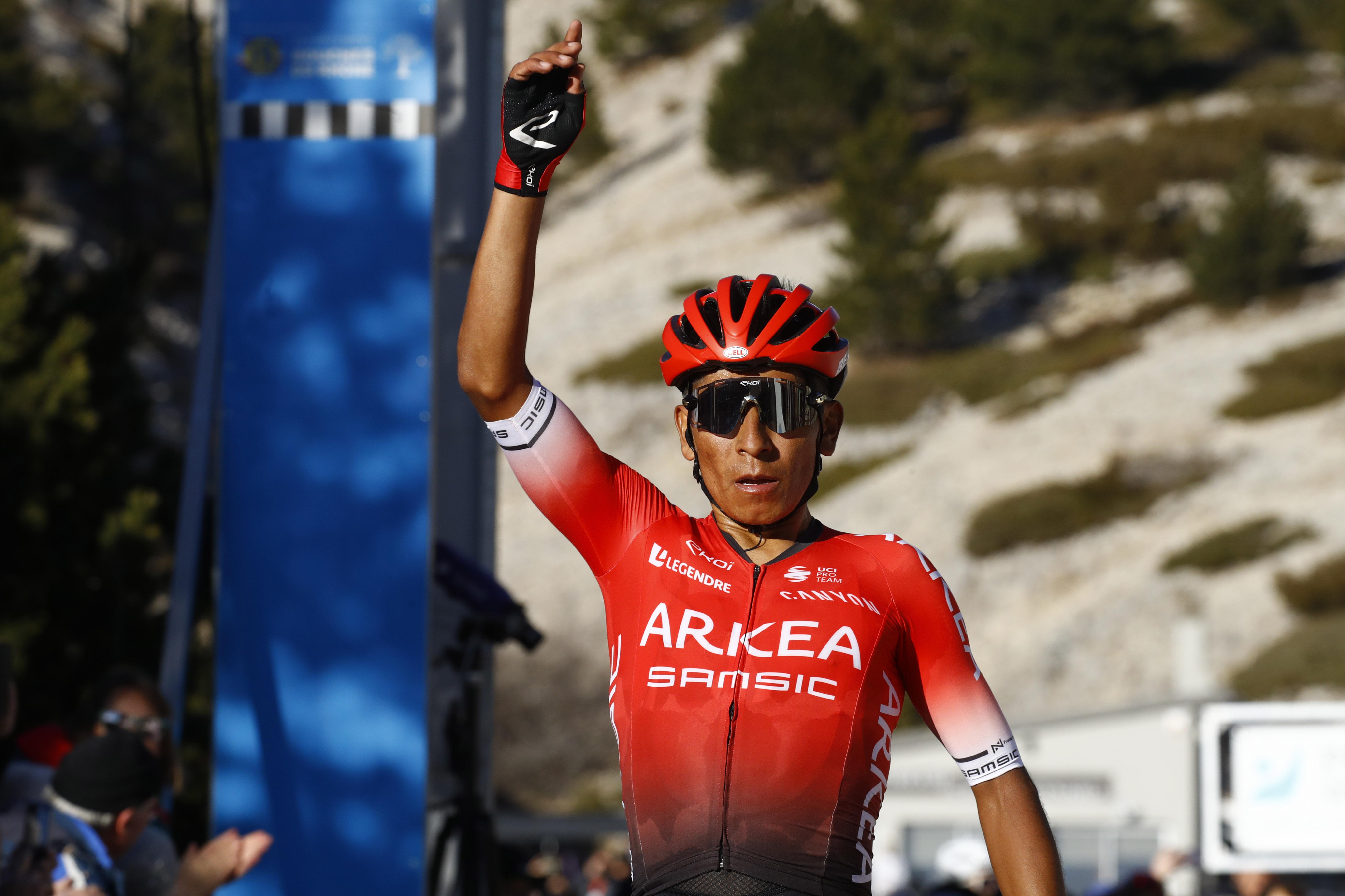 Nairo Quintana s'impose au final du classement général du Tour de la Provence 2020