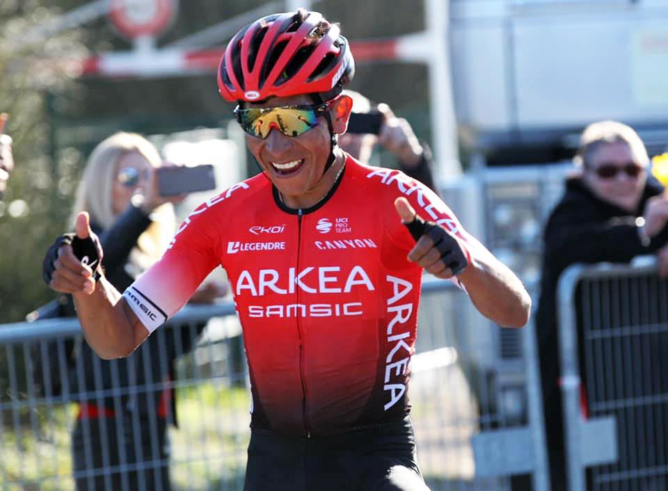 Nairo Quintana winner on the general classification of the  Tour des Alpes-Maritimes & du Var