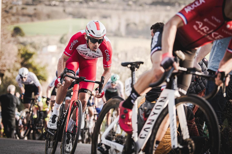 Christophe LAPORTE  victory on  Wallonie circuit