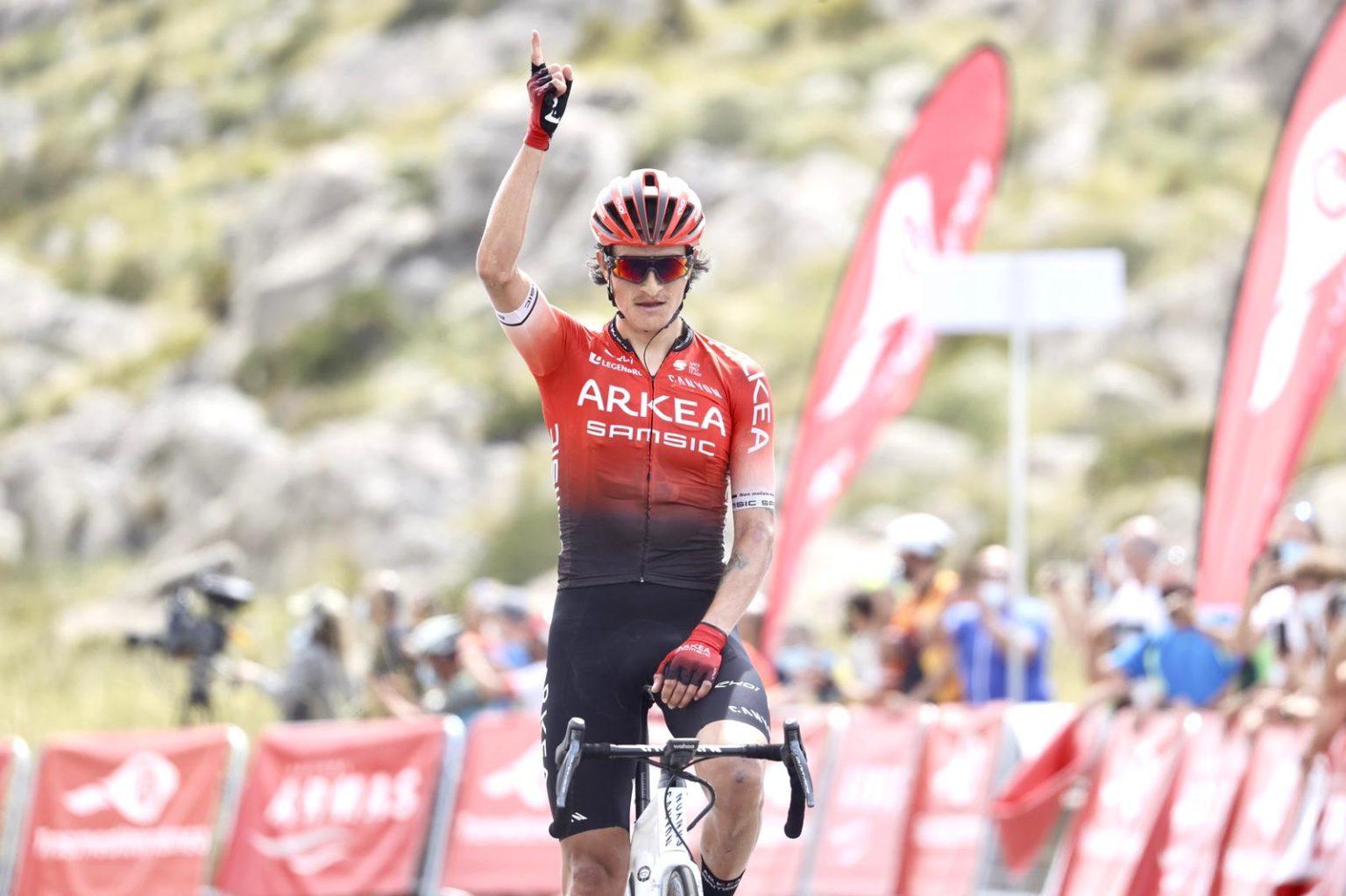 Victoire de Winner Anacona au sommet du Mirador de Colomer
